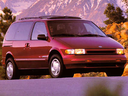 Nissan Quest 1993 1994 1995 - Service Manual - Car Service