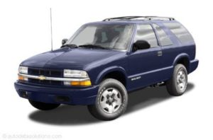 1996-1997 Chevrolet Blazer Workshop Service Repair Manual